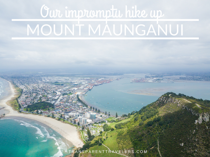 Our Impromptu Hike Up Mount Maunganui
