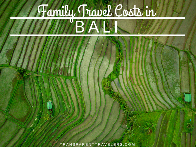 Family Travel Costs in Bali