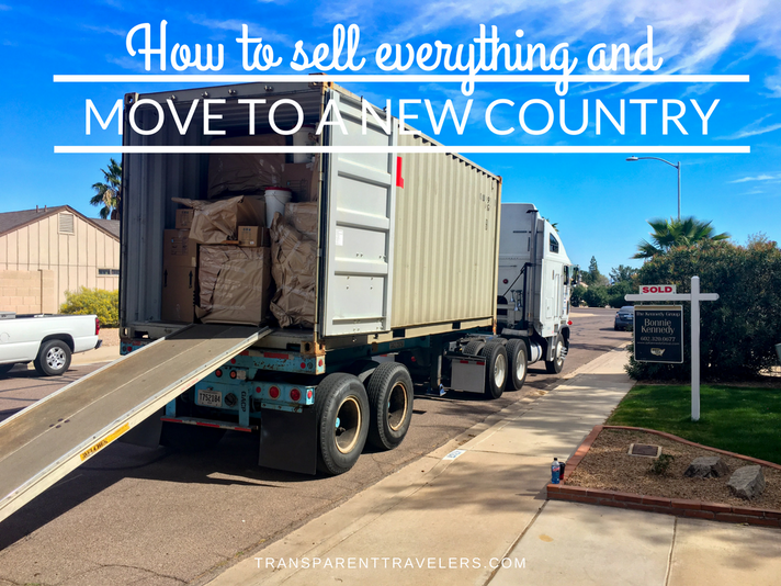 How to Sell Everything and Move to a New Country