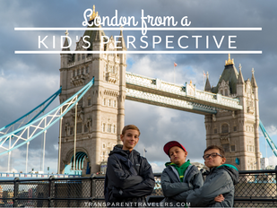 London From a Kid's Perspective