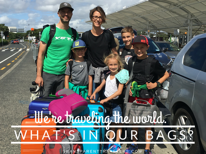 We're Traveling the World. What's In Our Bags?