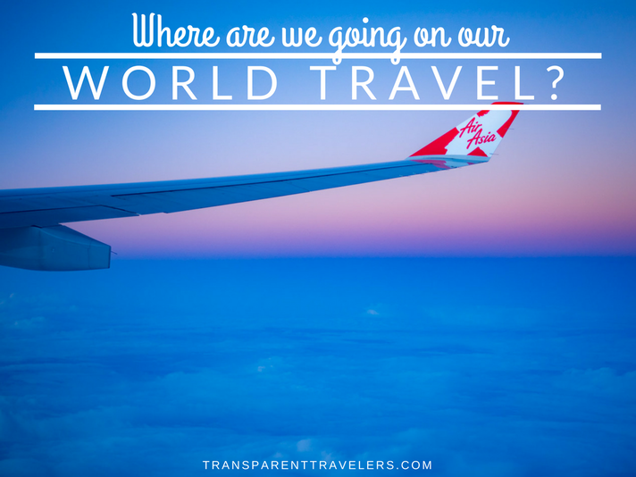 Where Are We Going on Our World Travel?