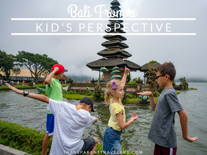 Bali From a Kid's Perspective