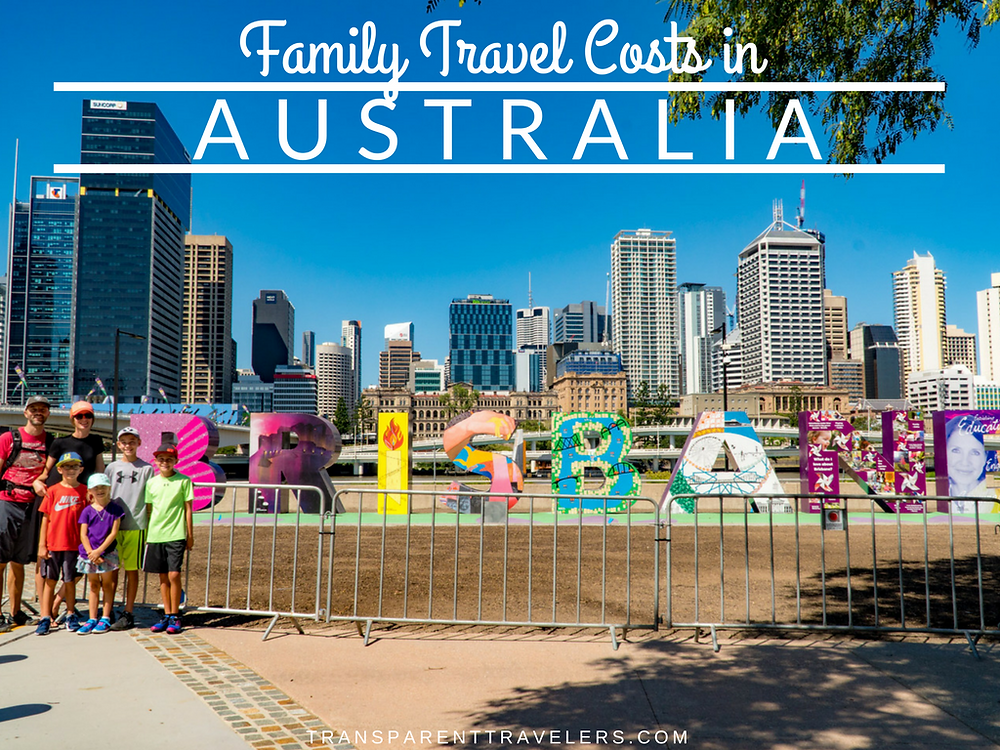 Family Travel Costs in Australia with the Transparent Travelers at www.transparenttravelers.com
