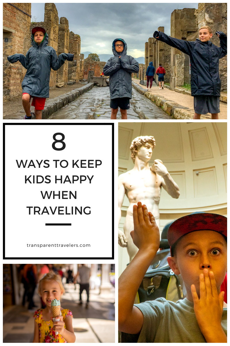 Top Tips on How to Travel with Kids with the Transparent Travelers at www.transparenttravelers.com