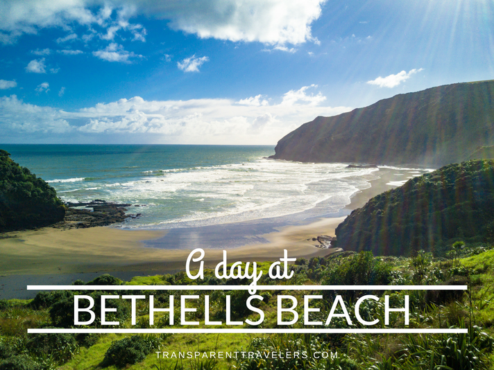 A Day at Bethells Beach