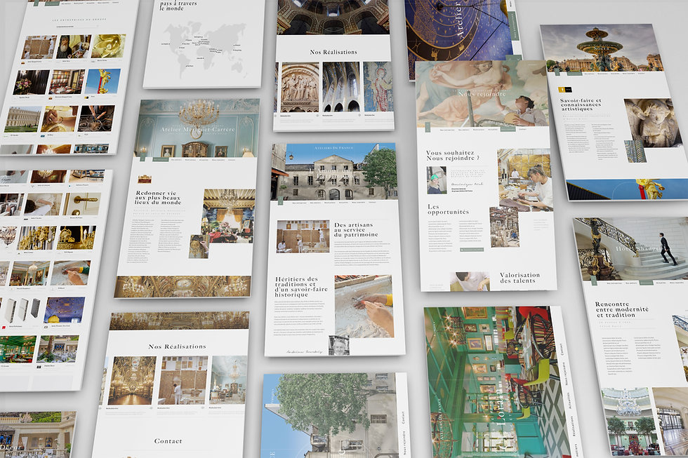 Atelier de France webdesign 2