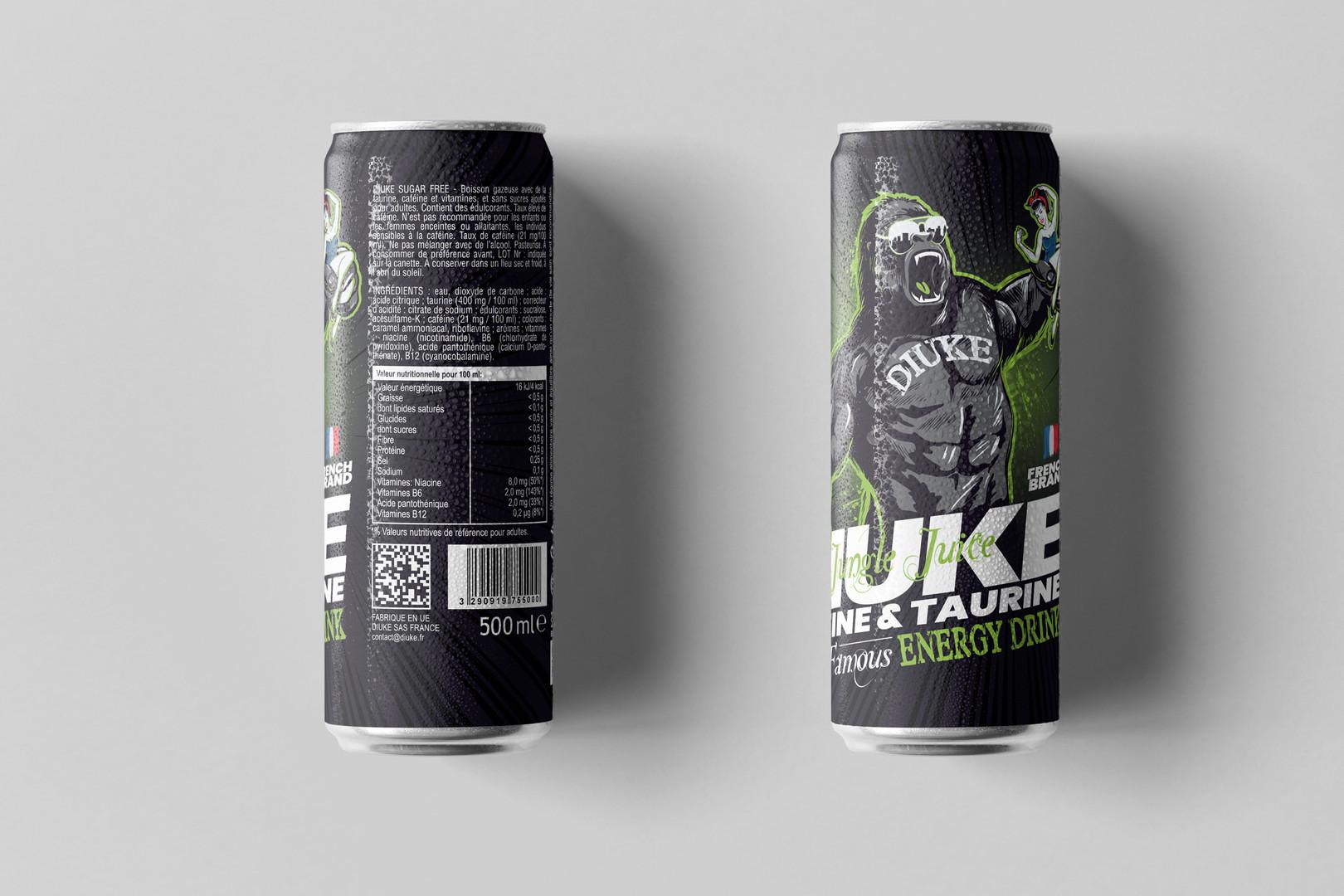 canette diuke energy drink