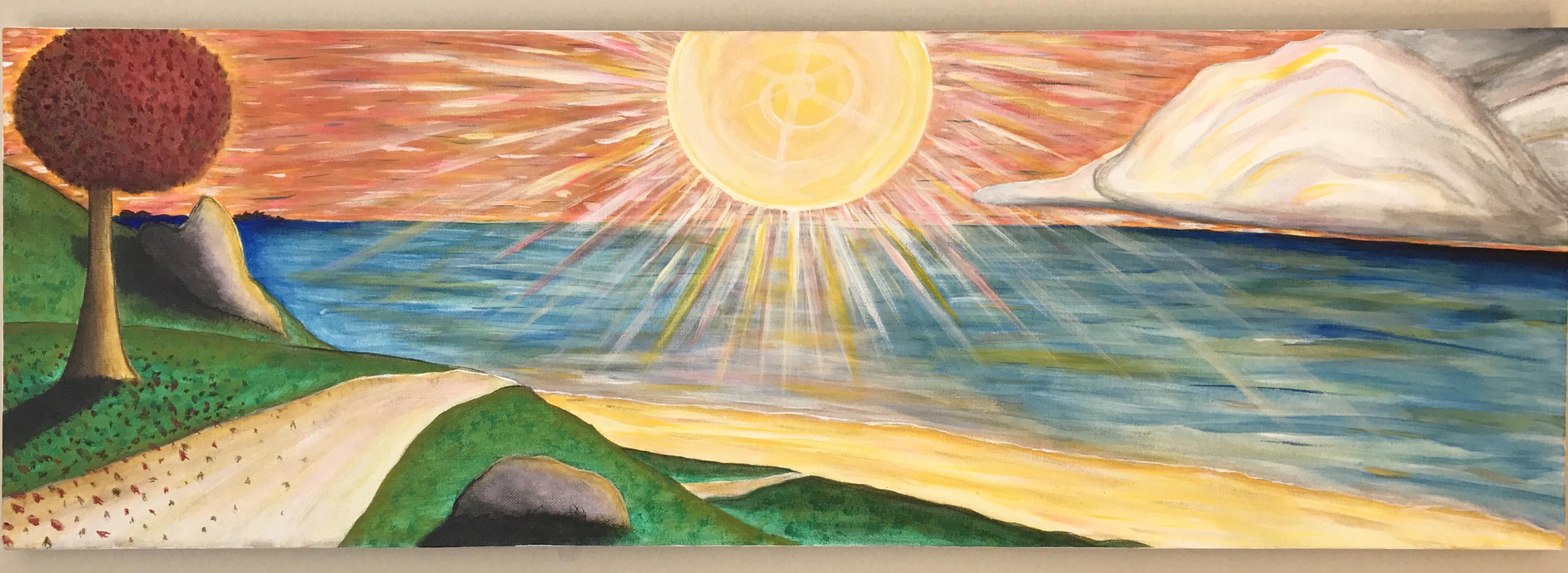 """Super Natural Sunset"""