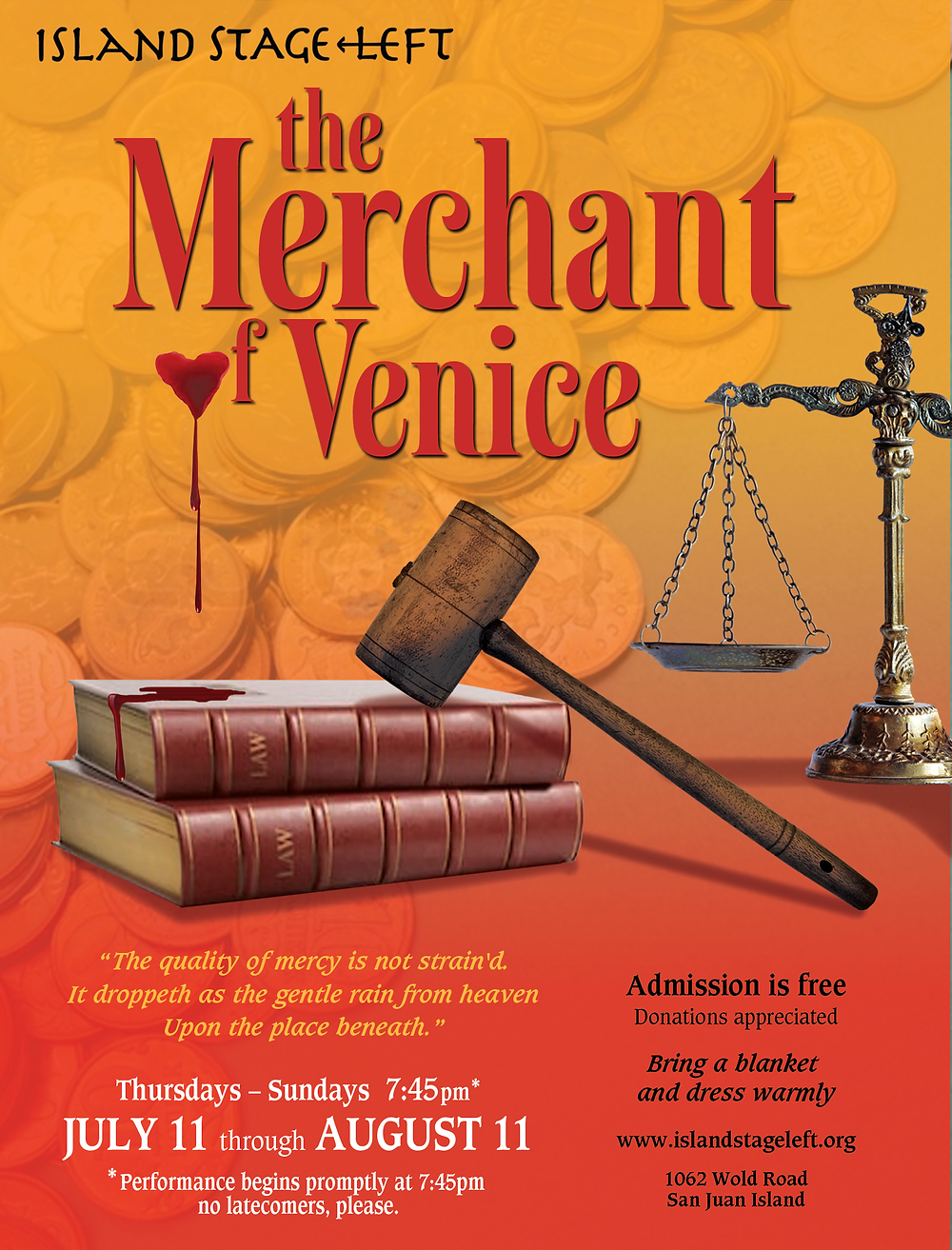 Summer 2019 - The Merchant of Venice