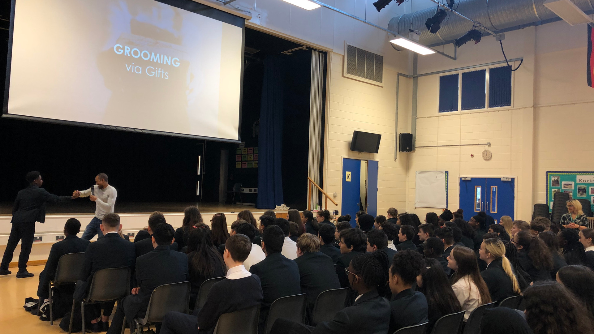 County Lines Assembly, Lea Valley Academy, Enfield