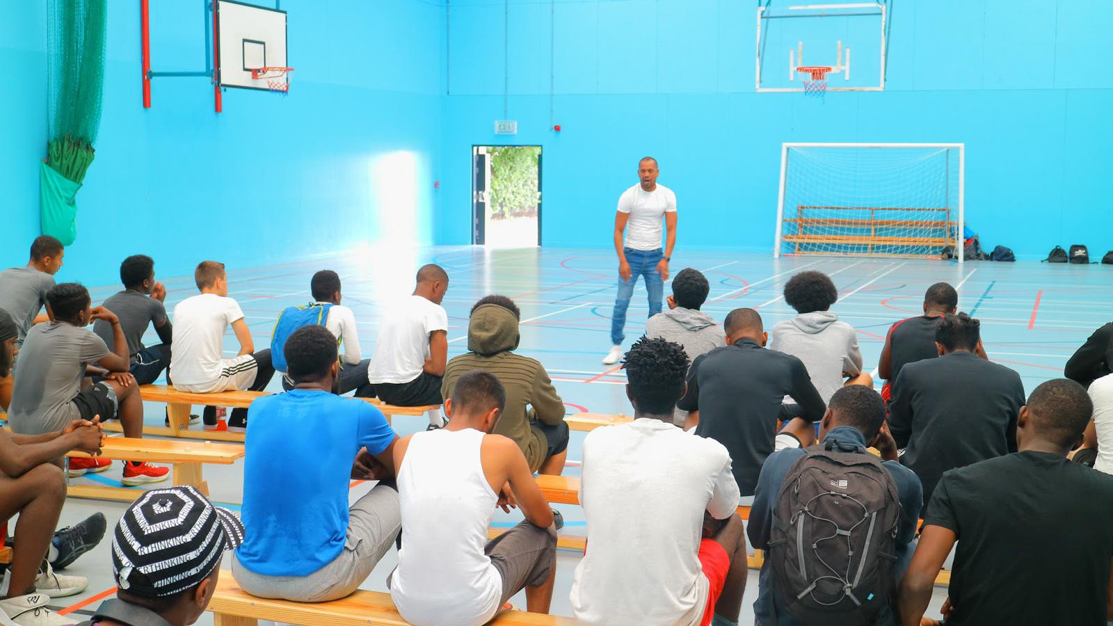 Football & Basketball tournament, College of North East London, Enfield