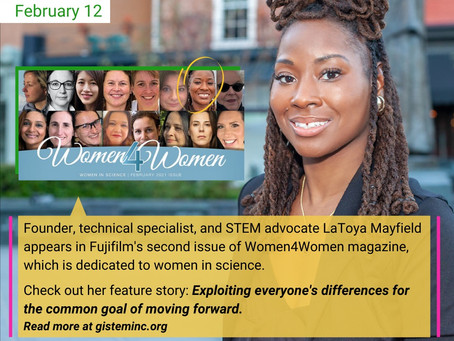 Our President was featured in Women4Women Magazine!