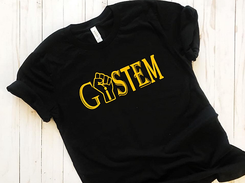 "Yellow ""Technology"" GiSTEM T-shirt"