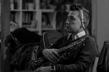 Stéphane Colin saxophoniste enseignant