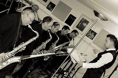 Section de saxophone dirigée par Stéphane Colin