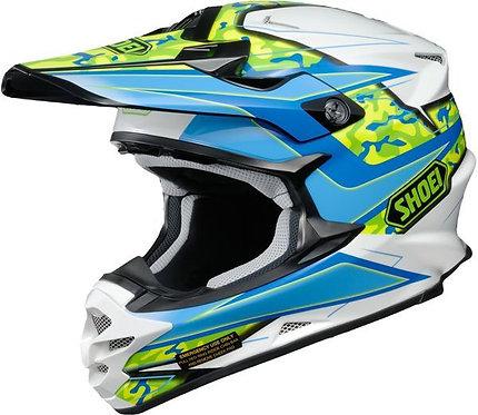 Shoei VFX-W MX Helmet Turmoil TC2