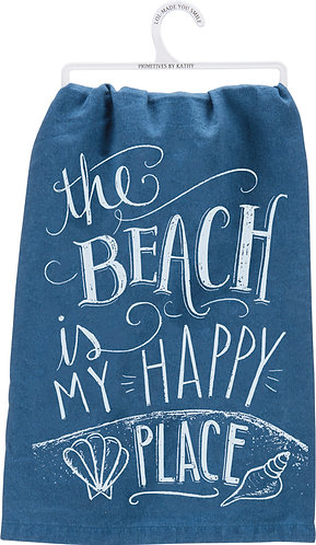 Dish Towel - My Happy Place