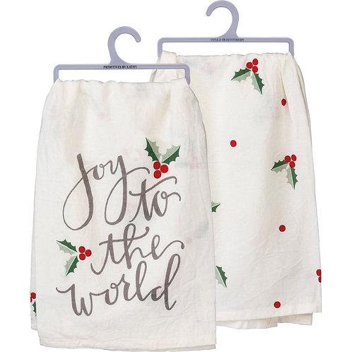 Dish Towel - Joy to the World