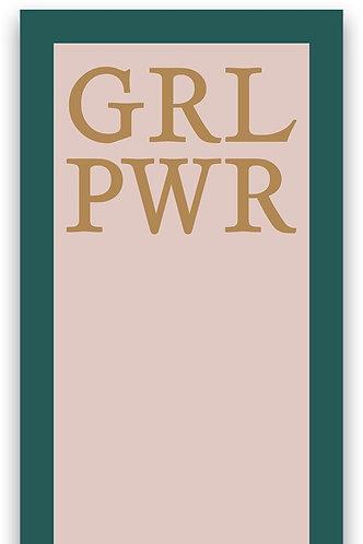 List Notepad - Grl Pwr Get It Girl
