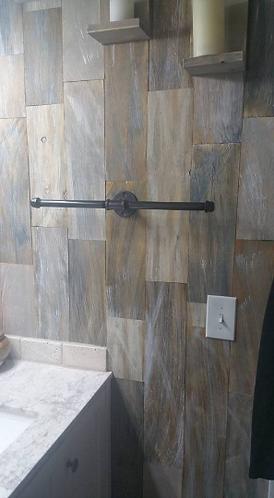 Dual Towel Bar