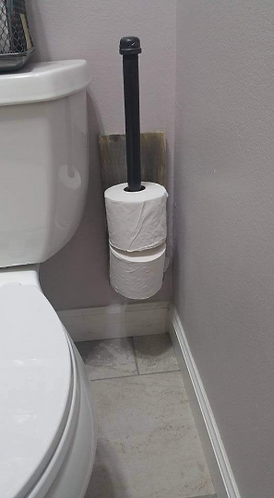 Spare Wall Toilet Paper Holder
