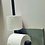 Thumbnail: Toilet Paper Holder with Spare Attachment