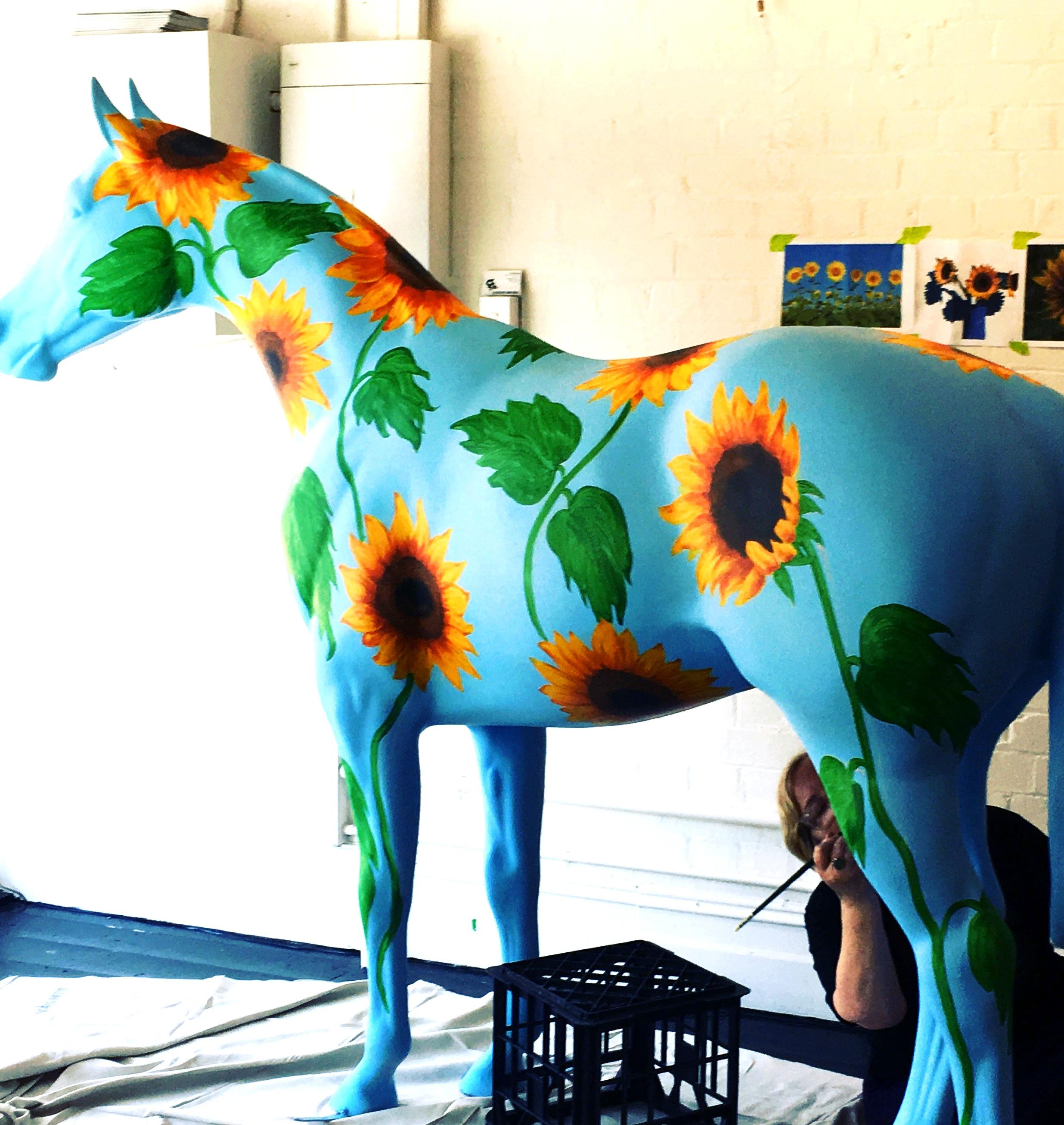 Glenferrie Horse Art - Window