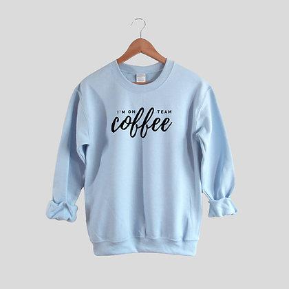 Team Coffee - Comfy Sweatshirt