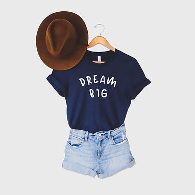 Dream Big - Comfy Tee - By Whole Kindness