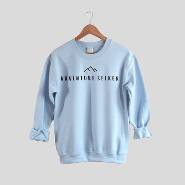 Adventure Seeker - Comfy Sweatshirt