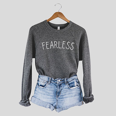 Fearless - Comfy Sweatshirt - By Whole Kindness