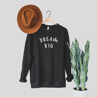 Dream Big - Comfy Sweatshirt - By Whole Kindness