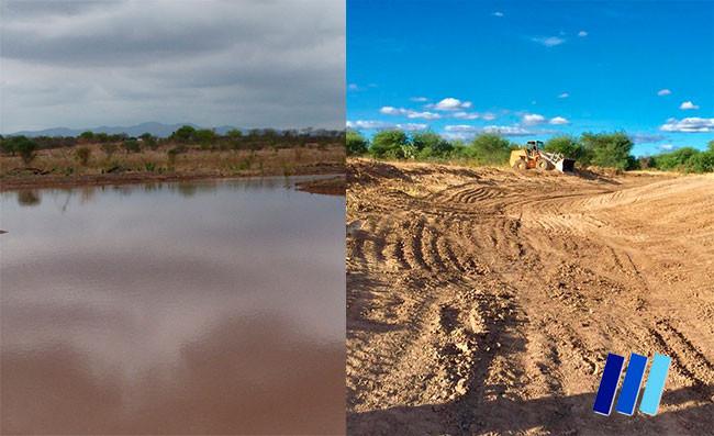Após obras e chuvas, água começa a chegar na Lagoa do Açude