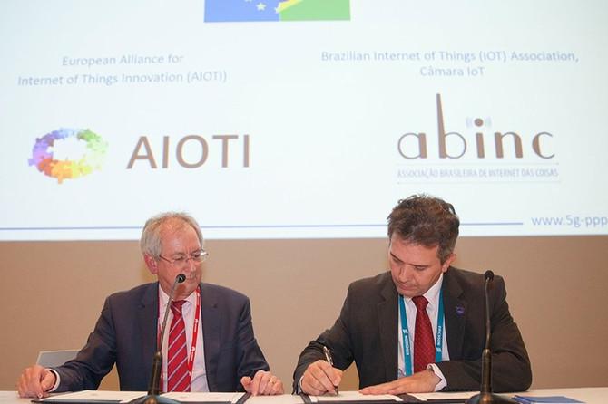 Parceria entre Brasil e União Europeia vai desenvolver Internet das Coisas e 5G