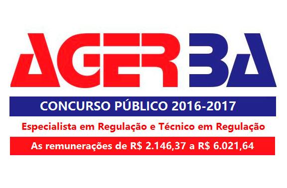 Agerba reabre inscrições de concurso com salários que chegam a R$ 6.021,64