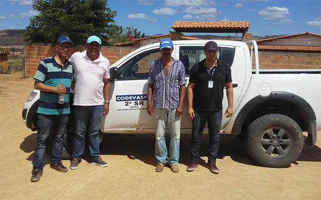 Macaúbas: Codevasf vistoria comunidades para iniciar obras