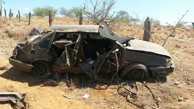 Acidente deixa vítima fatal próximo a Caturama