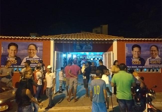 Eleições 2018: Comitê de candidatos é inaugurado em Macaúbas