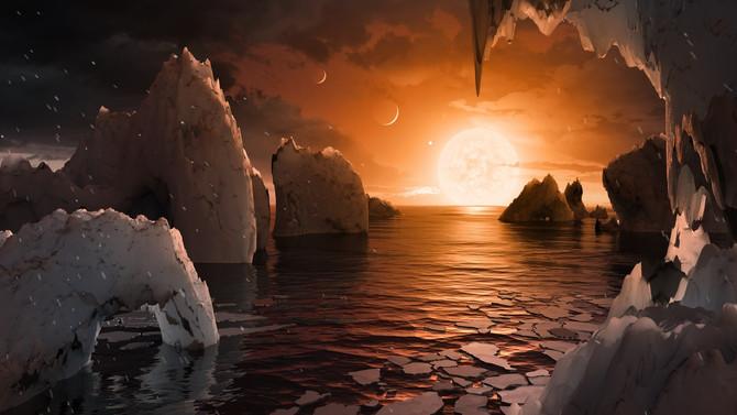 NASA descobre 7 planetas semelhantes a Terra, 3 podem conter água e vida