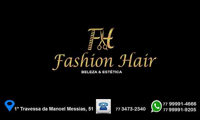 O Salão Fashion Hair está com novidades