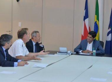 Em encontro com embaixador, ACM Neto se dispõe a ajudar Hospital Espanhol
