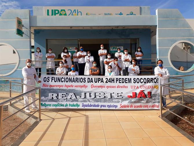 Em meio a pandemia, UPA de Macaúbas é tratada com descaso pela prefeitura