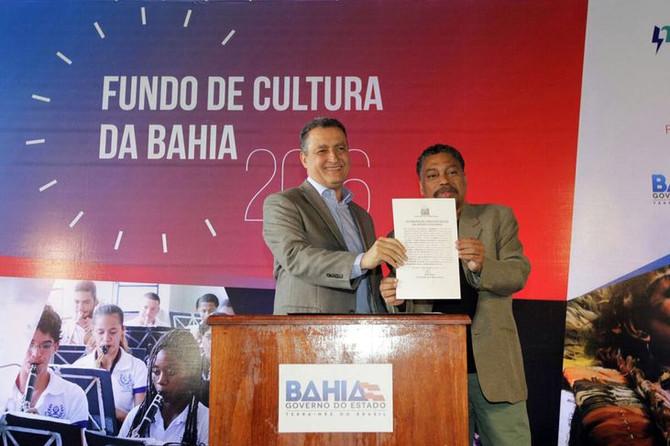 Governador assina TAC com investimento de mais de 30 milhões que financiará 372 projetos culturais p