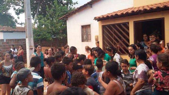 Bazar Nogueira Proporciona Muita Alegria As Crianças Carentes de Macaúbas