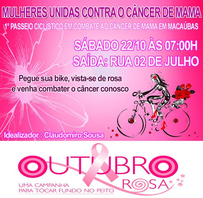 1° Passeio Ciclístico em Combate ao Câncer de Mama