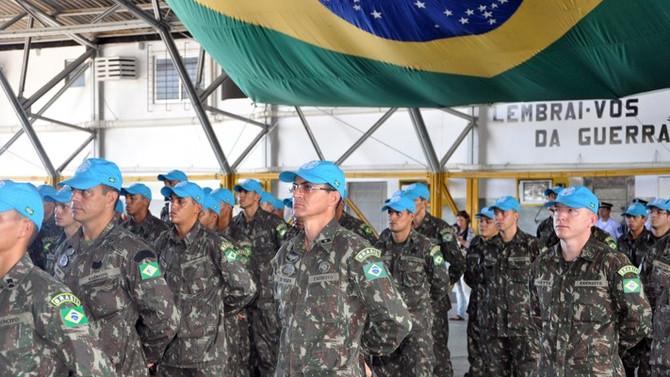 Militares do Nordeste começam a embarcar para o Haiti