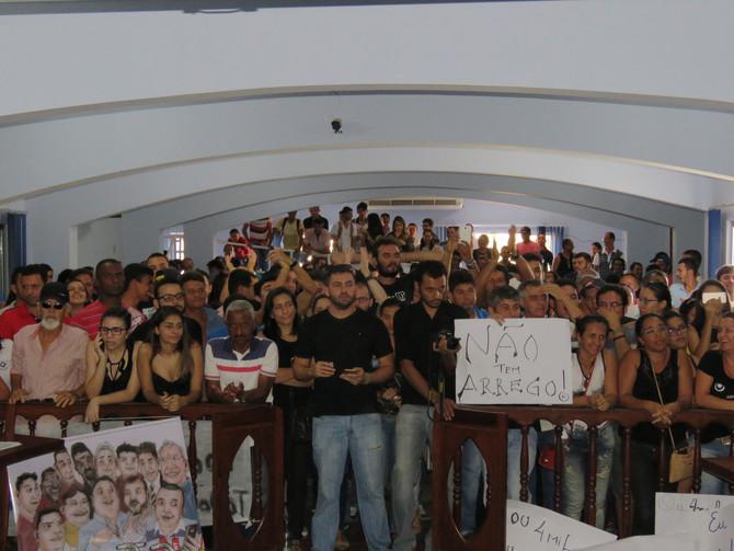 Movimento Todos Por Macaúbas Lota Sessão Ordinária da Câmara de Vereadores