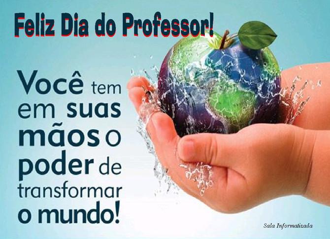 15 de Outubro Dia do Professor(a)