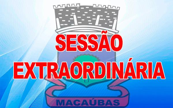 Câmara realizará Sessão Extraordinária próxima segunda (05), confira a pauta